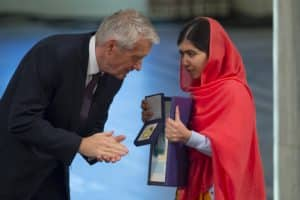 Malala Yousafzai Receives the 2014 Nobel Peace Prize