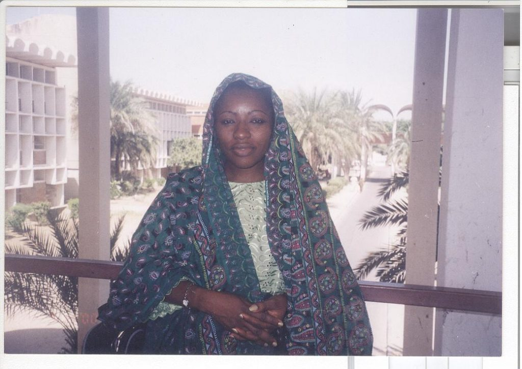 Maiduguri, 1997: Cesnabmihilo Dorothy Aken'Ova, consulting for the UNFPA as a Master Trainer, Counselling in Human Sexuality & Development.